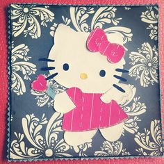 Hello Kitty card Made by CreationQueen