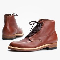 Alden Indy Boot Moc Toe 405 Classic Brown