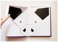 シンプルなグラフィックの動物絵本 [Paper ZOO] by Marya Dzianová