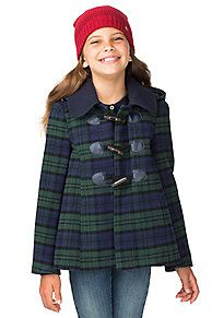 Blackwatch Wool Coat - 532 - Jackets, from Tommy Hilfiger