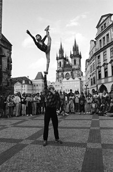 Artists from Russia, Prague, Old Town Square,1996  photo byJaroslav Kučera  some posts just disappeared from the dash..