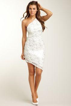 A.B.S. One Shoulder Asymmetric Hem Sequin Dress - #Sale #Sequin Soiree: Add Some #Sparkle  http://www.hautelook.com/index/index/mk/invite/inv_code/JSquires054
