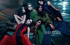 Have you seen the sibling-campaign for #Balmain? Such a #picture of #perfection! #Fashion