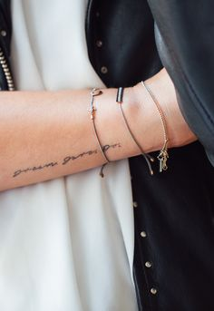 Dream. Dare. Do. <3 Anklets, Delicate, Etsy, Jewels, Tattoos, Bracelets, Happy, Homemade, Wristlets