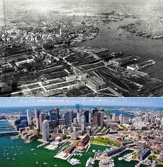 Boston between the twenties and now