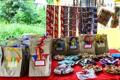 DIY lootbags Fiesta Theme Party, Party Themes, Party Ideas, 3rd Birthday, Birthday Parties, Diy Party, First Birthdays, Baby Shower, Pinoy