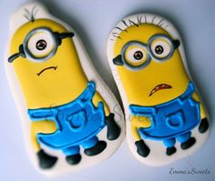 Minions by Emma's Sweets   Cookie Connection