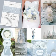 Fairy Tale Wedding Inspiration: The Story of Cinderella #wedding #fairytalewedding #disneywedding #cinderellawedding
