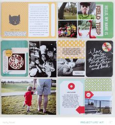 Project Life Weeks 8 & 9 *Main Kit Only* by Kelly Noel at @Studio_Calico