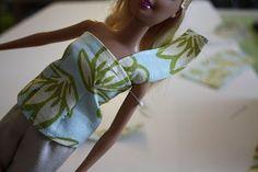 craftiness is not optional: barbie cap sleeve shirt tutorial