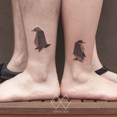 16 Creative Penguin Tattoos