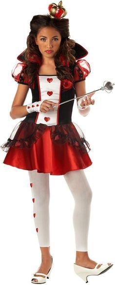 Queen Of Hearts Teen Costume Product #: WC104036