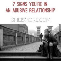 One in three women will find themselves in an abusive relationship at some point in their life. To help lower that statistic, read some of these warning signs and red flags that may reveal that someone you know is in an abusive relationship. Verbal Abuse, Emotional Abuse, Toxic Relationships, Healthy Relationships, Flirting Quotes, Dating Quotes, Spanish Words, Marriage Relationship, Monsters