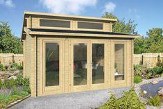 Gartenhäuser Flachdach Modern großes flachdach gartenhaus mit großen türen und fenstern 500x400cm
