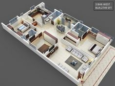 House Plans Mansion, My House Plans, Home Building Design, Building A House, House Design, House Construction Plan, High Rise Apartments, Mehndi Art, Art Designs