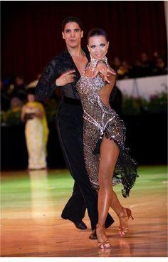 #dancesport | #dance | #ballroom | MariyaBlackCrystalLAT3.jpg