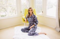 Oh Deer! Lightweight pajamas from The Cat's Pajamas.