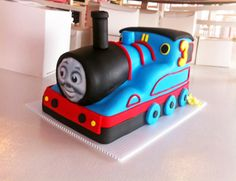 Thomas The Train | Oklahoma's Premier Wedding Cake Designer and Sugar Artist