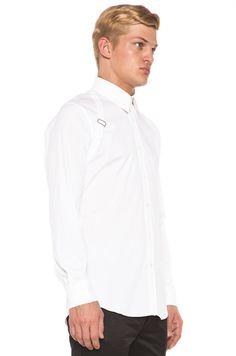 Alexander McQueen Harness Shirt in White