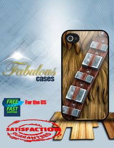 iPhone 4 4s star wars chewbacca  iPhone Case  by Fabulouscases, $15.00