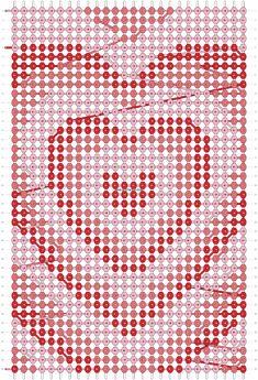 Oh My Love, Cute Love, Friendship Bracelet Patterns, Friendship Bracelets, Macrame Bracelet Diy, Minecraft Pixel Art, Alpha Patterns, String Art, Bracelet Designs