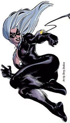Black Cat Marvel, Spiderman Black Cat, Marvel Comics, Arte Dc Comics, Marvel Heroes, Marvel Universe, Tiger Artwork, Marvel Cards, Black Cat Art