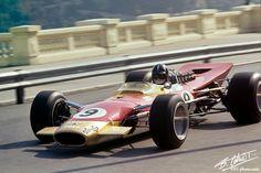 1968 GP Monaco (Graham Hill) Lotus 49B - Ford