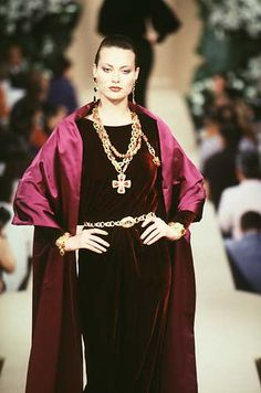 Yves Saint Laurent Haute Couture F/W 1997
