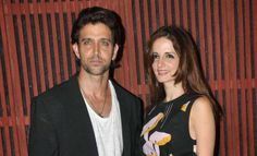 Hrithik Roshan and his beautiful wife Sussanne