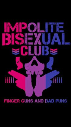 Impolite bisexual club iphone wallpaper