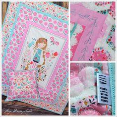 Babydecke mit Kissen von LizaDecor auf DaWanda.com