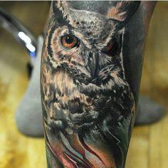 ☺ Owl Tattoos, Sleeve Tattoos, Tatoos, Native American Tattoos, Piercings, Drawings, Animals, Ideas, Design