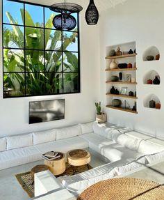 Home Living Room, Living Room Designs, Living Room Decor, Living Spaces, Dream Home Design, Home Interior Design, Interior Ideas, Style Deco, Living Room Inspiration