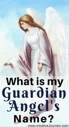 Everyone has a guardian angel. Here are 5 ways to learn what your guardian angel's name is. The post What is my Guardian Angels Name? appeared first on Best Tattoos. Guardian Angel Quotes, Guardian Angel Tattoo, Your Guardian Angel, Angel Spirit, Tarot, Archangel Raphael, Raphael Angel, Archangel Gabriel, Angel Guide