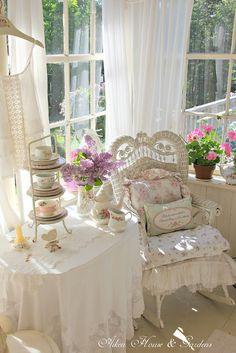 pink bliss at Aiken House & Gardens, Prince Edward Island, Canada