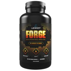 """FORGE is a fat burner made specifically for use with fasted training. It helps you lose fat--and """"stubborn"""" fat in particular--faster, preserve muscle, and maintain training intensity and mental sharpness."""