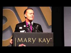 Jim Cundiff at Mary Kay Career Conference (MI) 2013 ~ His story is just inspiring no matter who you are