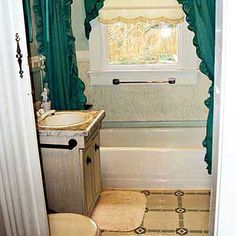 Cottage Bathroom Idea  Before and After Bathroom Remodels: Inspirations for Your Projects Check more at http://www.showerremodels.org/4916/before-and-after-bathroom-remodels-inspirations-for-your-projects.html