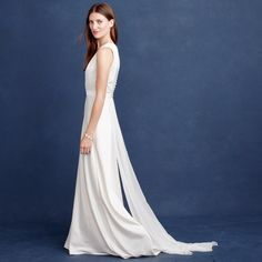 J.Crew's New Wedding Dress Collection Is Simply Stunning via @WhoWhatWear