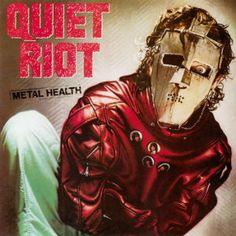 Quiet Riot Metal Health Import Vinyl LP Metal Health is the third studio album by heavy metal band Quiet Riot. It is one of the early metal albums that Nu Metal, Glam Metal, Power Metal, Death Metal, Greatest Album Covers, Rock Album Covers, Party Rock, Thrash Metal, Lps