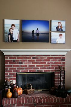 creative wall displays   get those photos off your hard drive photo