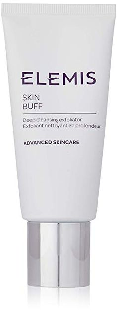 ELEMIS Skin Buff , Deep Cleansing Exfoliator very effectively, exfoliates. Has the right size granules to get a good scrub but not overly abrasive. Best Facial Exfoliator, Best Exfoliators, Spa Branding, Skin Polish, Luxury Beauty, Dead Skin, Smooth Skin, Deep Cleaning, Glow