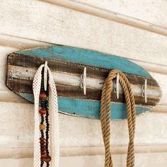 Wood Surfboard Coat Rack                                                                                                                                                     More