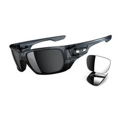 13384c614af86 Oakley Style Switch Sunglasses - Oakley Men s Polarized Lifestyle Branded  Eyewear - Crystal Black Black Iridium, Chrome Iridium   One Size Fits All