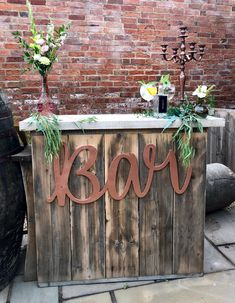 Manor farm wedding hampshire with rustic homemade glamping vibes excited to share this item from my etsy shop bar sign cheers sign gin sign laser cut word wedding decor oversized word wedding backdrops junglespirit Images