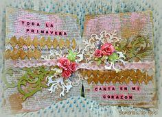Sementes de papel: Mixed Media, Art Journaling. Spring