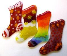 Fused glass stockings http://www.users.globalnet.co.uk/~dee/Tutorials6.htm