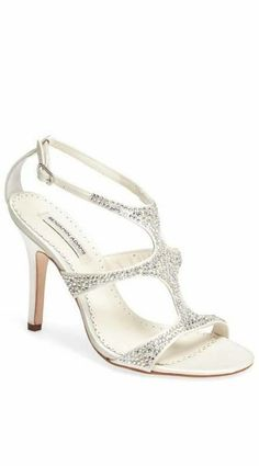 Benjamin Adams London 'Fox' Crystal Embellished Sandal