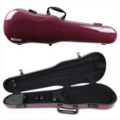 Gewa Air 17 Shaped 44 Full Size Violin Case Purple High Gloss ** See this great product.Note:It is affiliate link to Amazon. #night