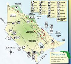 St Andrews State Park Panama City Beach | St Andrews State Park Map - Panama City Florida • mappery